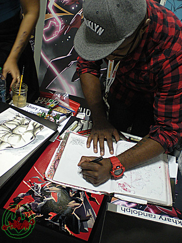 New York Comic Con 2012 :: Khary Randolph