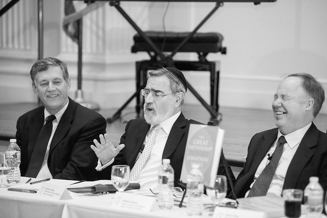 Lord Jonathan Sacks at the Symposium on Spiritual Progress