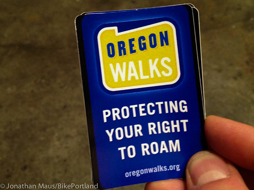 Oregon Walks sticker