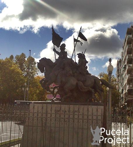 Estatua a los Cazadores de Alcantara