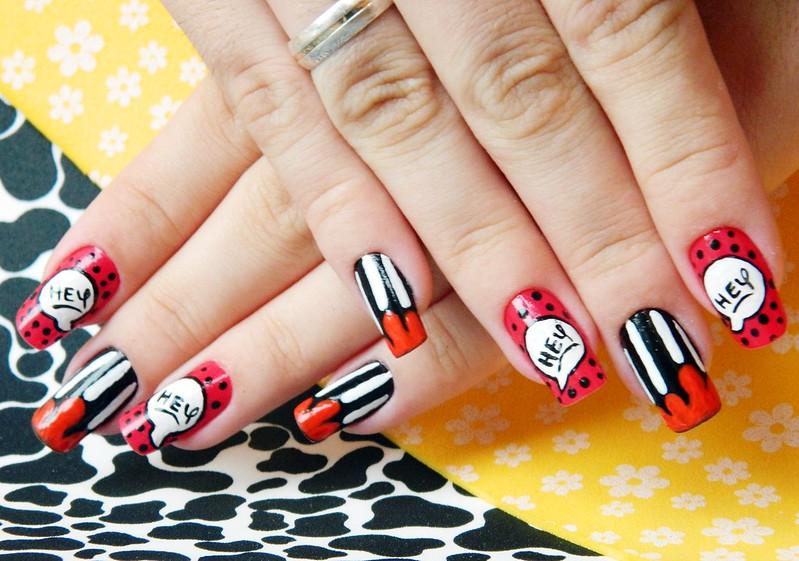 unhas decoradas juliana leite nail art mickey disney divertida 012