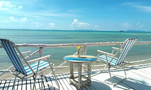 Koh Samui Beach front Cafe-Kala Sea サムイ島ビーチフロントカフェ