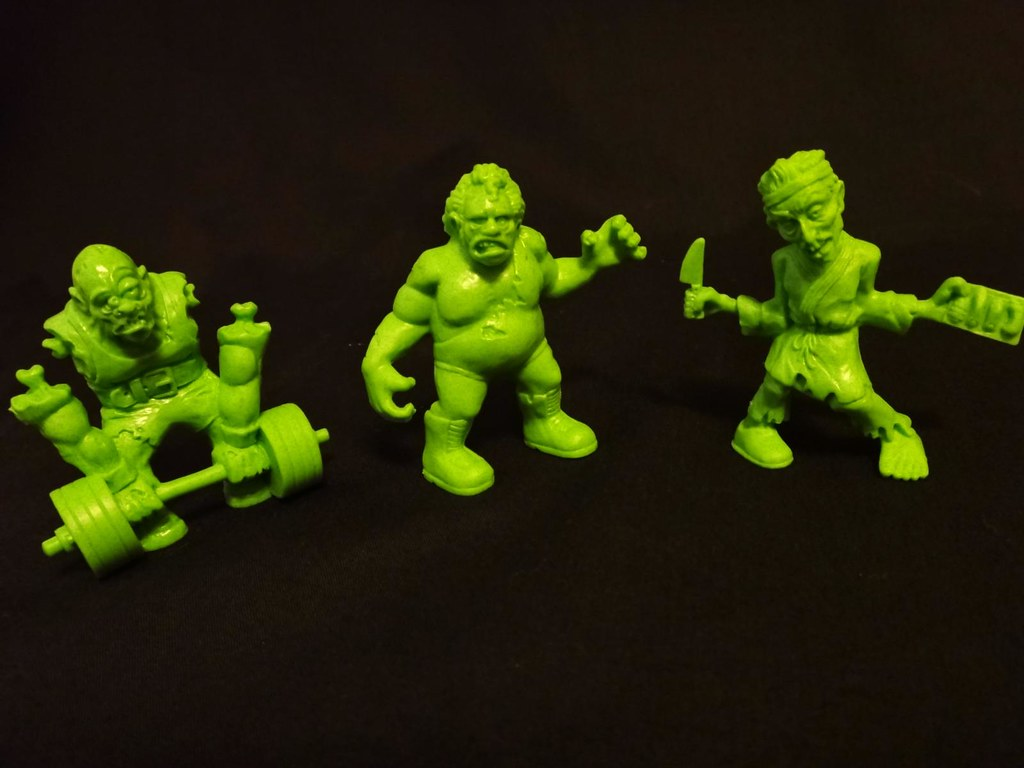 SLUG Zombies series 3 Deadlifter Towering Terror Squeamy Sashimi
