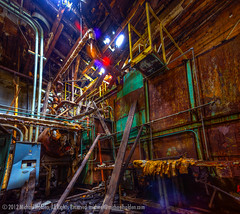 Undisclosed Locations: Power distro for boiler