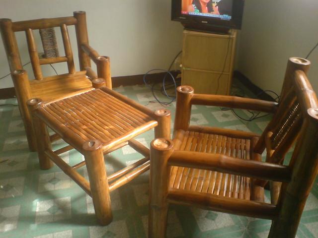 For sale ge refrigerator and bamboo sala set for Sala set for sale