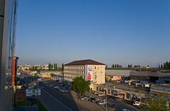 Krasnodar - Vue depuis l'Hotel Forum