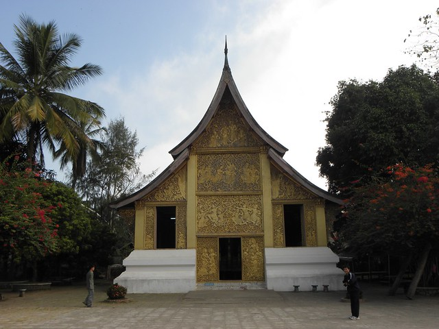 One of the many temples in Luang Prabang, Laos