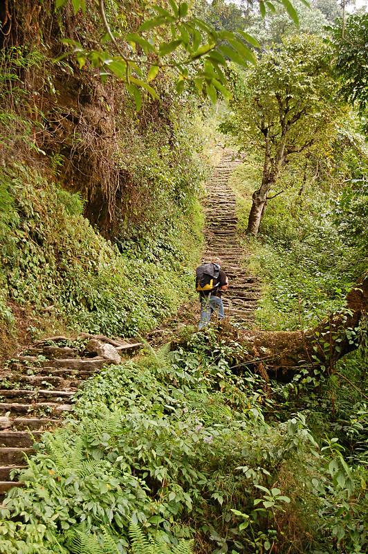 Jhinu Danda, Annapurna Sanctuary Trek, Nepal