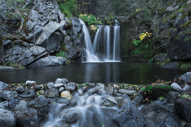 Crystal creek falls flickr photo sharing Crystal falls