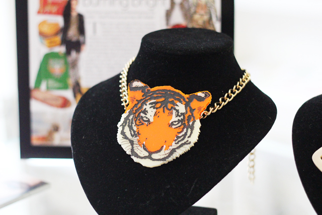 Tatty Devine tiger necklace