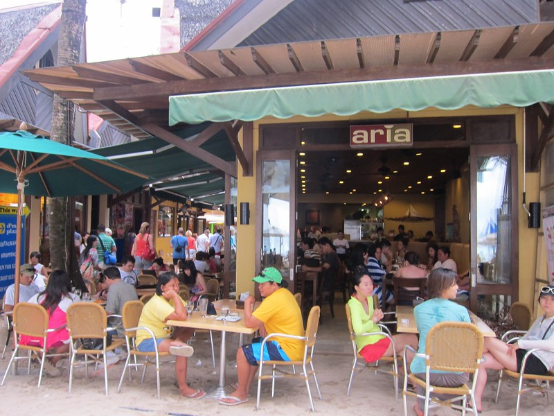 Top Ten Things to Do in Boracay, D Mall, Aria Pizza