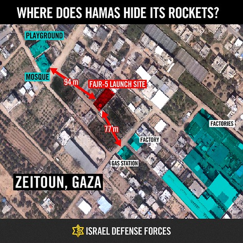 Infographics: Where Does Hamas Hide Its Rockets?