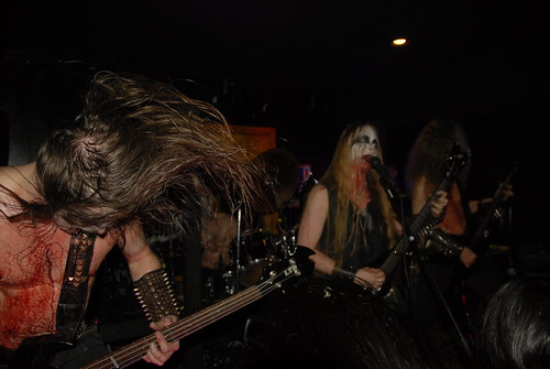 Darkened Nocturn Slaughtercult at Caracol Bar