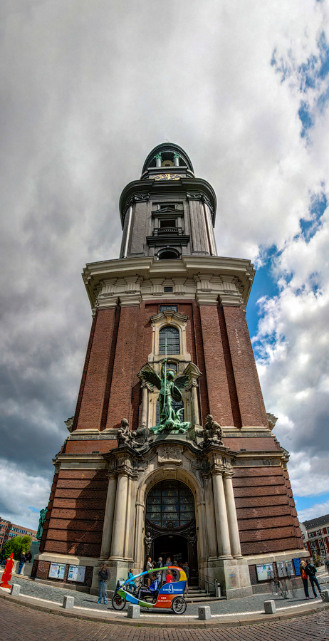 "St. Michael""s church in Hamburg"