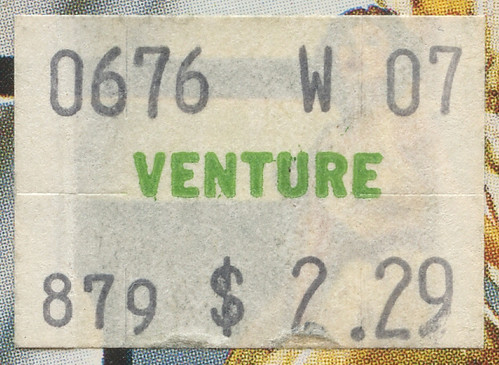 1978 Venture Price Sticker