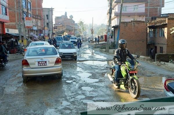 road conditions in Kathmandu nepal