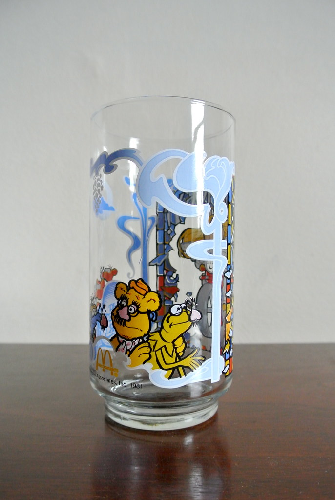 Vintage Glasses • Mickey Mouse and The Muppets!