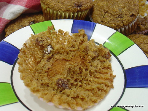 Muffin baking paper fail
