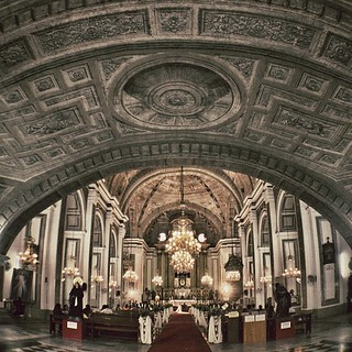 Image of  San Agustin Church. square squareformat iphoneography instagramapp uploaded:by=instagram foursquare:venue=4b9de33af964a52082c136e3
