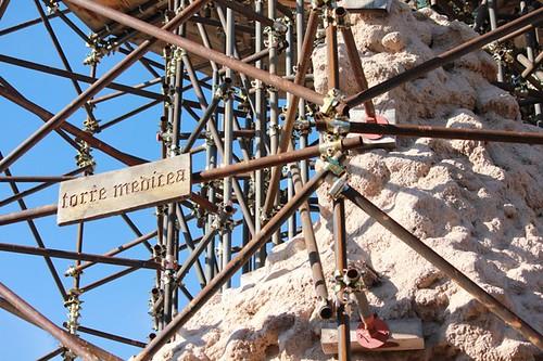 I resti della Torre Medicea