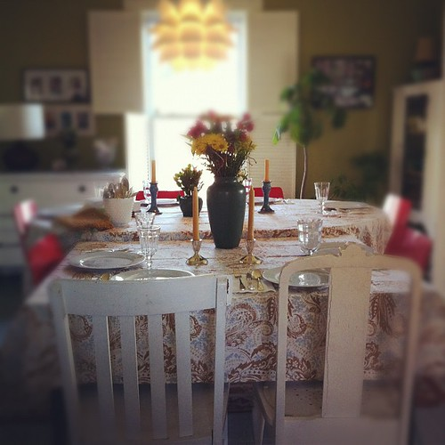 the arranging portion of the day : this works #thanksgiving