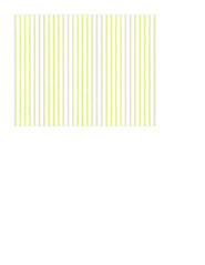 A2 card size JPG Monochromatic Pin Stripe (chartreuse) paper