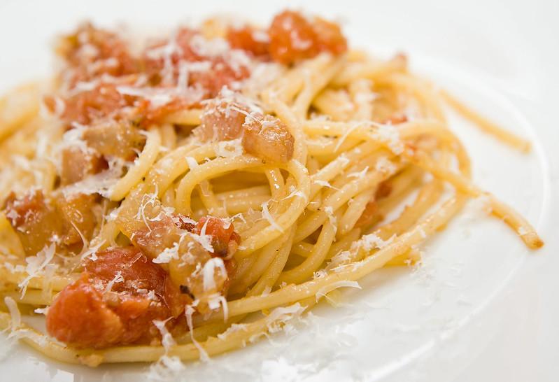 vera ricetta degli spaghetti all'amatriciana