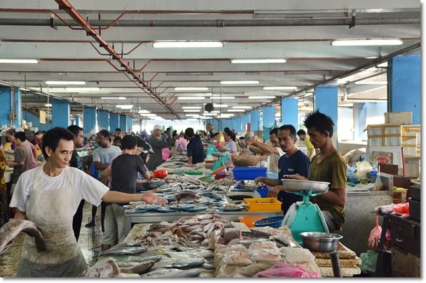 Fresh Seafood Stalls