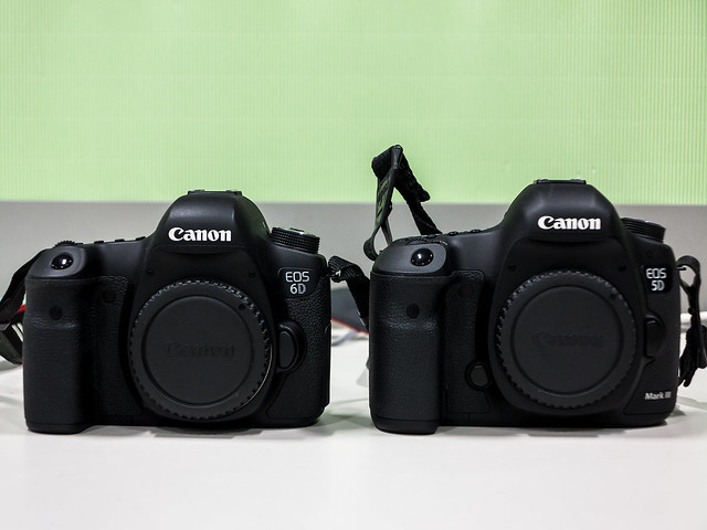 EOS 5D mark III and EOS 6D