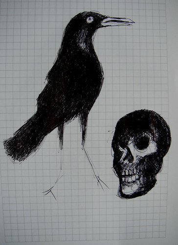 Squares Crow and Skelly by The People In My Head