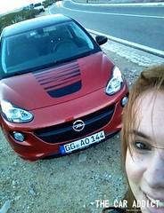 Lisa und ihr Opel ADAM