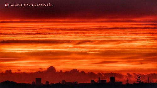 webshots travel sunset nature sun europe air netherlands holland scene dutch sky clouds view cloud apartment skies sunsets sunrises color colour colours zon zonsondergang natuur panasonic wolken zeist lucht tz5 window fog autumn nevel mist colors orange oranje