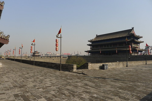 View at top of West gate