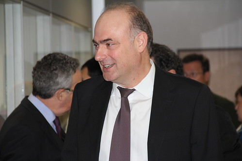 José Javier Martínez, director del Centro de Promoción Fagor en la presentación de Fagor Healthcare.