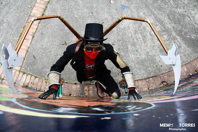 spiderman steampunk