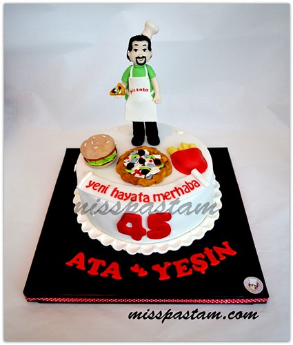 Birthday Cake by MİSSPASTAM