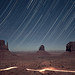 Monument Valley Star Trail by RickrPhoto