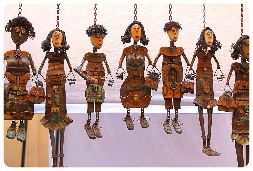 san telmo market handmade dolls