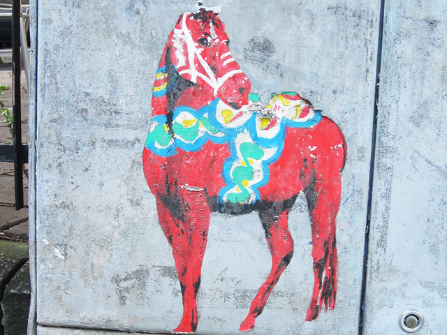 Weekly inspiration: Street art and a Dala Horse on the loose