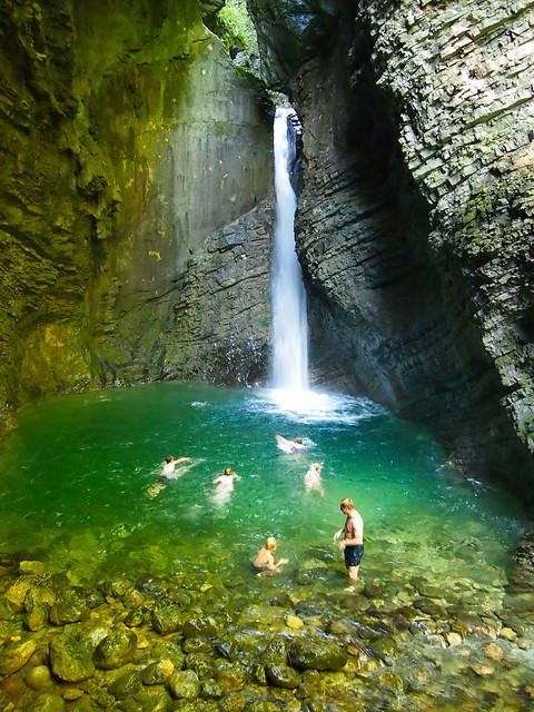 Kozjak Waterfall, Slovenia