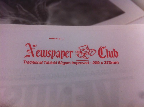 Newspaper Club stamp