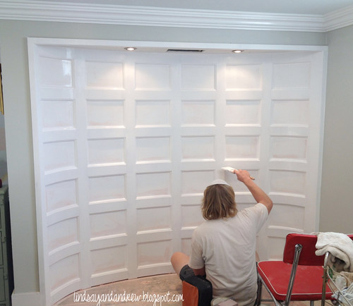 Lindsay drew how to install prep and paint paneled trim for Gloss paint for trim