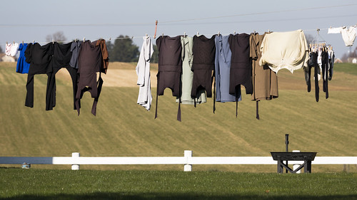 Even the Amish have Dirty Laundry