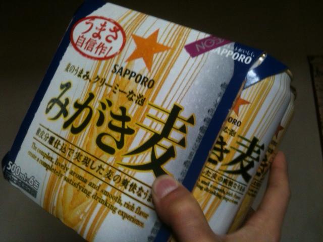 イオン専売品のサッポロ・みがき麦