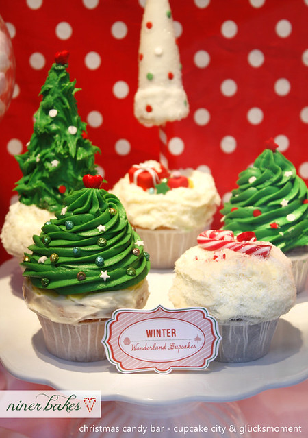 Christmas Candy Bar // Sweet Table   Flickr - Photo Sharing!