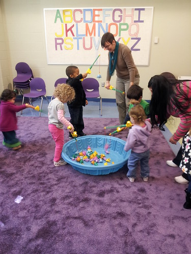 Fishing at Georgetown's preschool storytime 3