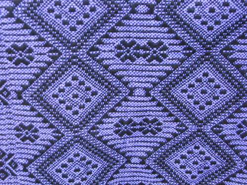 Purple Textile Pattern