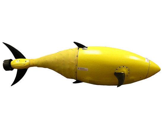 Homeland Security's RoboFish drone