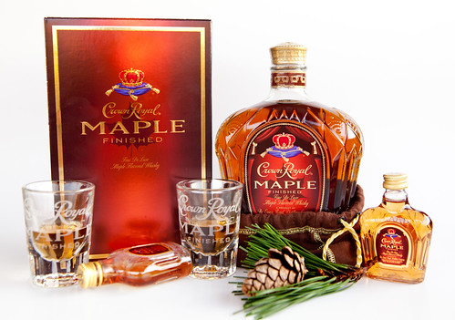 Crown Royal Maple Finished Whiskies