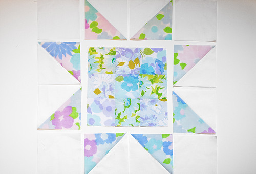 Patchwork Star Block Tutorial by Jeni Baker